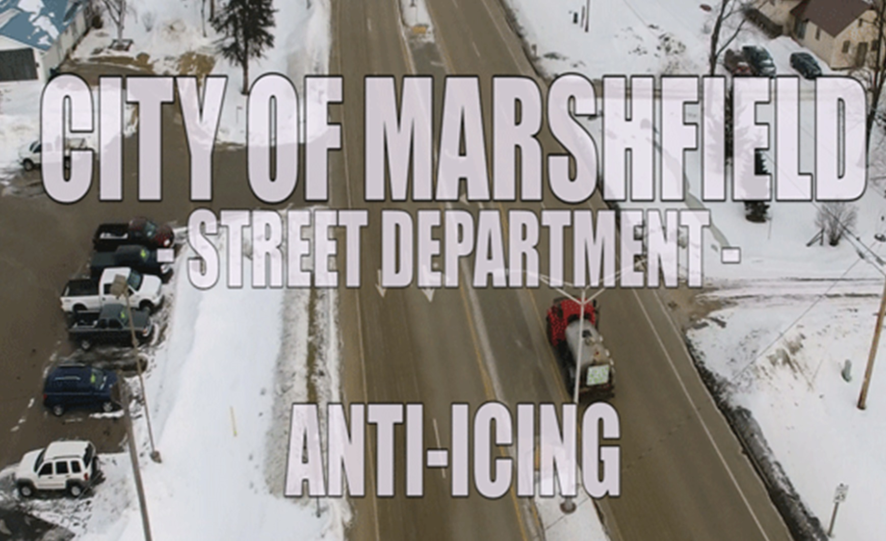 Anti-Icing in Marshfield, WI